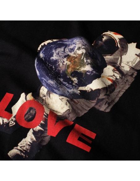 Dedicated Stockholm Astro Love Black T-Shirt