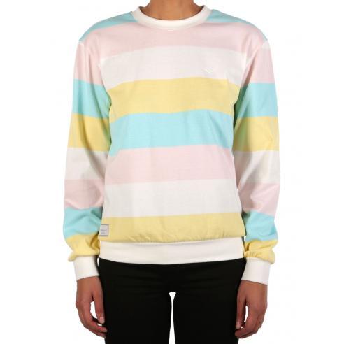 Sudadera Iriedaily Fat Stripe Multi color