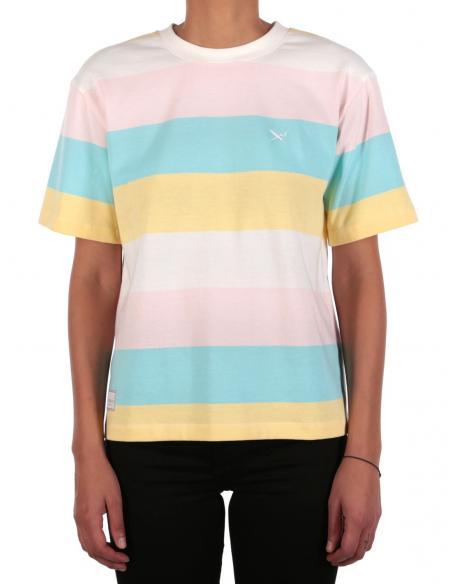 Iriedaily Fat Stripe Multi color T-Shirt