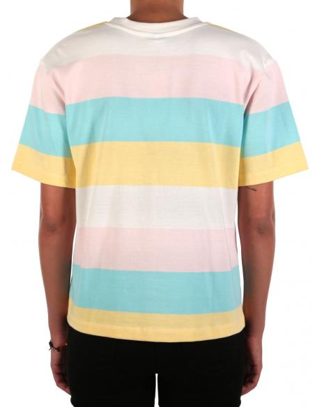 Camiseta Iriedaily Fat Stripe Multi color