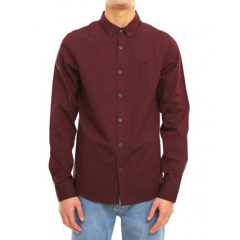 Camisa Iriedaily Samuel Maroon mel