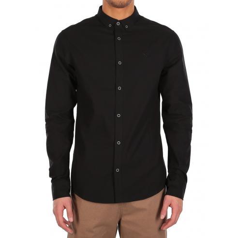 Camisa Iriedaily Samuel Uni Black