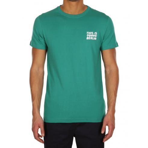 Camiseta Iriedaily Not Tokio Teal