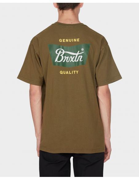 Camiseta Brixton Stith Standard Verde