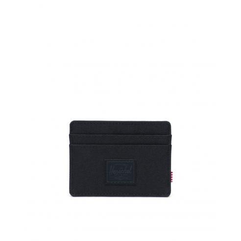 Tarjetero Herschel Charlie RFID Black/Black