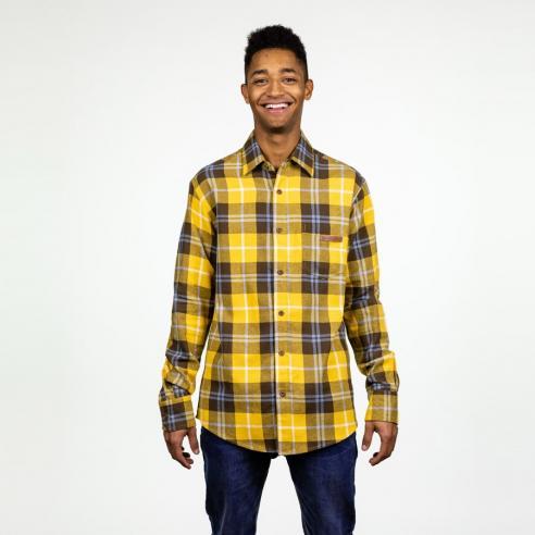 Camisa Hydroponic Desert Mustard Check