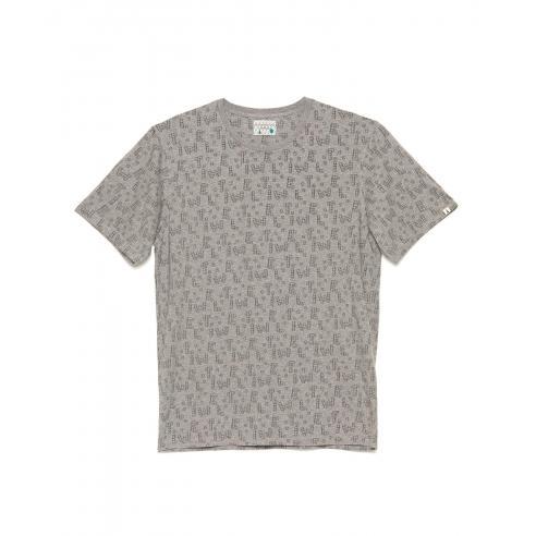 Camiseta Tiwel Dice toy Mid grey melange