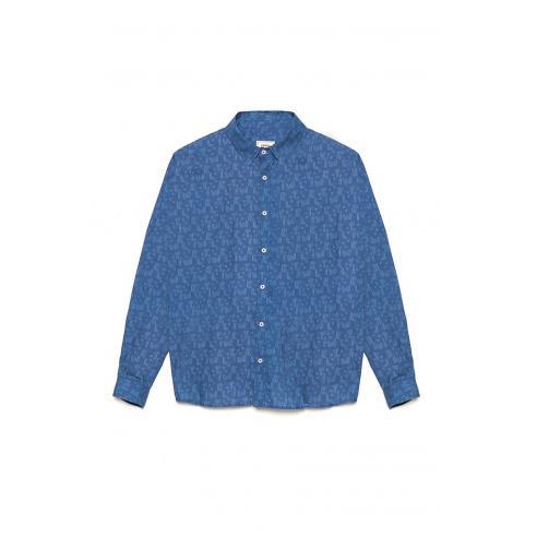 Camisa Tiwel Cubix Brigade blue