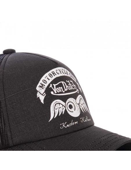Gorra Von Dutch Motorcycle Club Negro