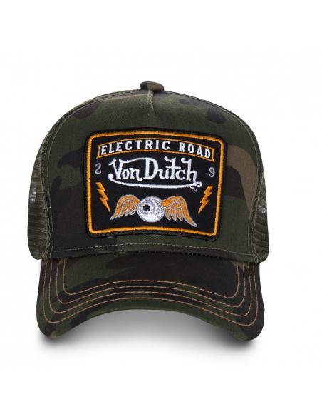 Von Dutch Square 4B Trucker Cap