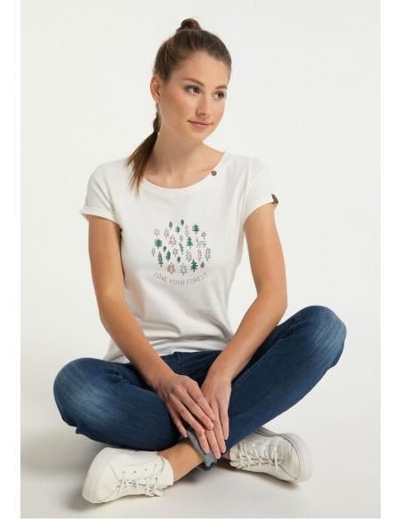 Ragwear Florah B White uni T-Shirt