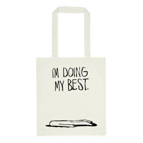 Bolsa Dedicated Tote bag Torekov Doin my best off-white