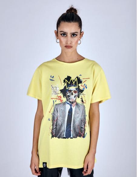 Camiseta Le Crane Jean Michel Skull