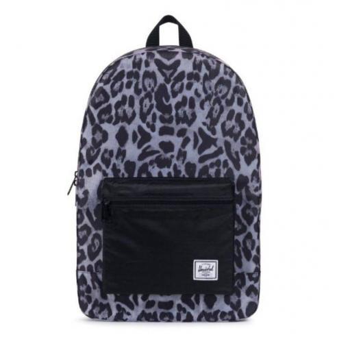 Herschel Packable Daypack Snow Leopard Black Backpack