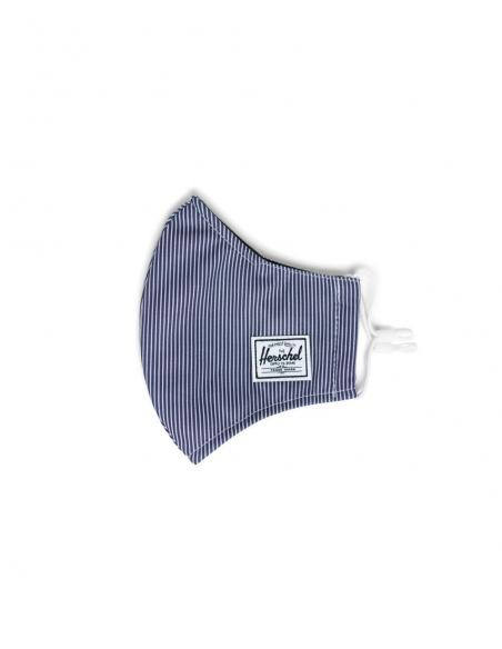 Herschel Classic Fitted Peacoat Engineered Stripe Face Mask