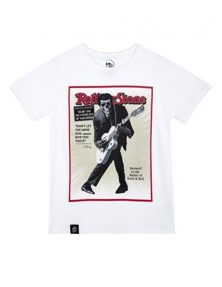 Camiseta Le Crane Chuck Skull White