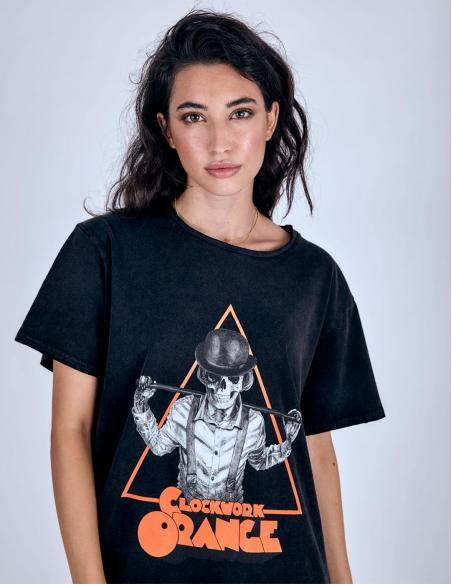 Camiseta Le Crane Orange Black