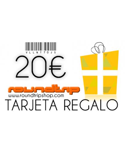 Tarjeta regalo 20€