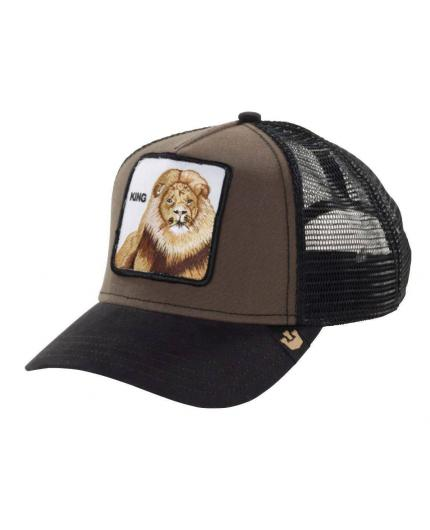 Gorra Goorin Bros King Brown Animal Farm Trucker Hat