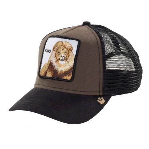 Goorin Bros Animal Farm Trucker Hat King Brown