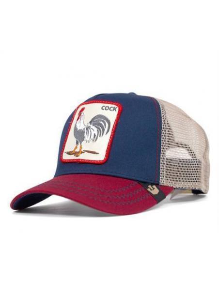 7f8d9c1dc24be Goorin Bros Animal Farm Trucker Hat All American Rooster Navy