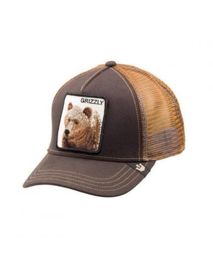 Gorra Goorin Bros Grizzly Brown Animal Farm Trucker Hat
