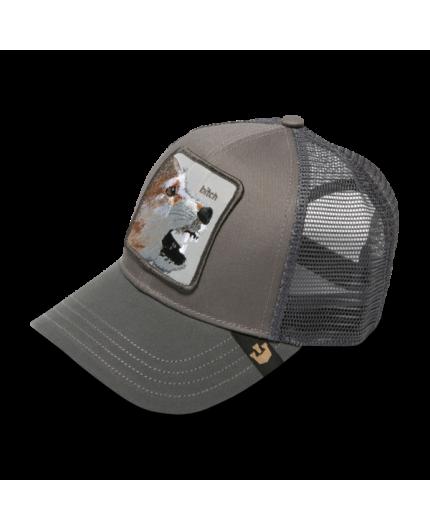 Gorra Goorin Bros Lassy Bitch Grey Animal Farm Trucker Hat