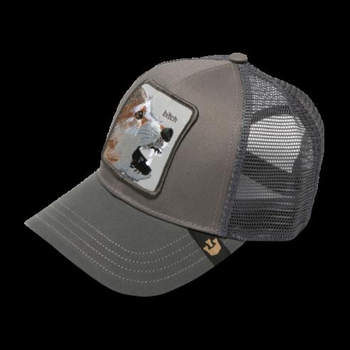 Gorra Goorin Bros Animal Farm Trucker Hat Lassy Bitch Grey