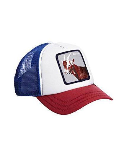 Goorin Bros Hickory Stick Blue Animal Farm Trucker Hat