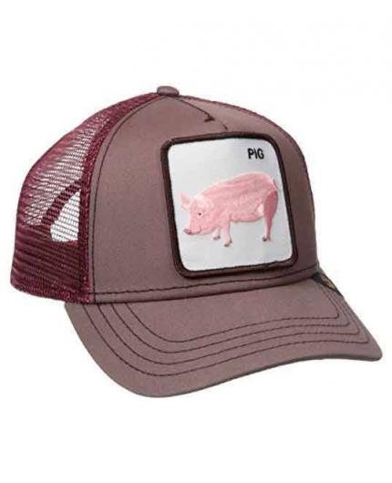 Gorra Goorin Bros Pig Cof Animal Farm Trucker Hat