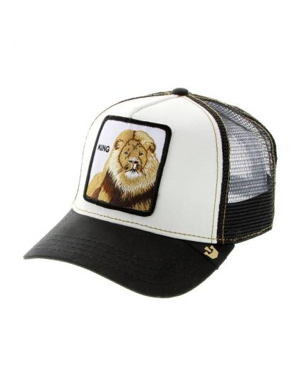 Goorin Bros King Black Animal Farm Trucker Hat