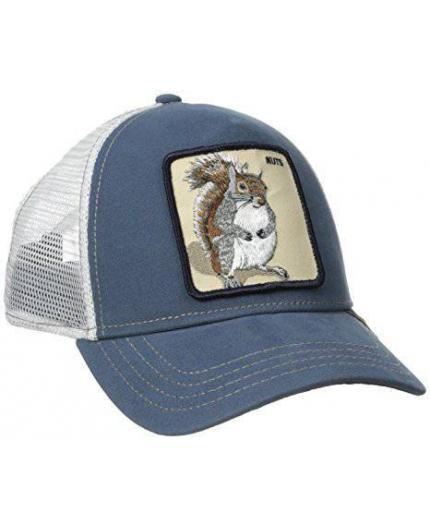 Goorin Bros Nutty Blue Animal Farm Trucker Hat