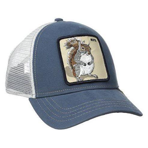 Goorin Bros Nutty Blue Animal Farm Trucker Hat