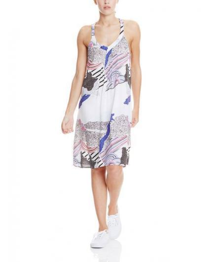 Bench Top AOP dress