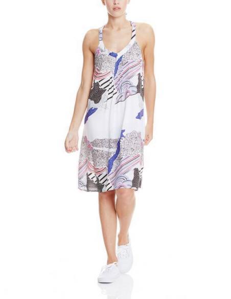 Bench Top AOP dress