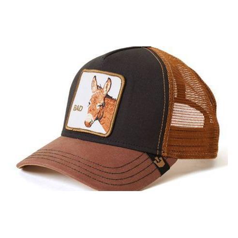 Goorin Bros Barn Yard King Black Animal Farm Trucker Hat