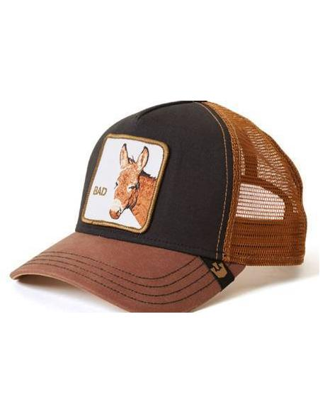 Gorra Goorin Bros Bad Ass Black Animal Farm Trucker Hat