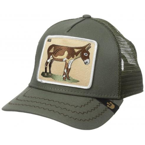 Goorin Bros Barn Donkey Ass Olive Animal Farm Trucker Hat