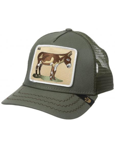 Goorin Bros Barn Donkey Ass Olive Animal Farm Trucker Hat