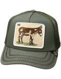Gorra Goorin Bros Donkey Ass Olive Animal Farm Trucker Hat