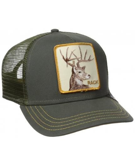 Goorin Bros Rack Olive Animal Farm Trucker Hat