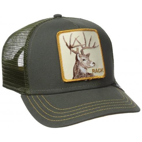 Goorin Bros Rack Olive Animal Farm Trucker Hat