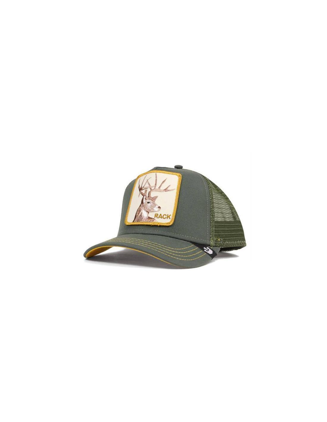 Goorin Bros Rack Olive Animal Farm Trucker Hat 9e6c0a60cd69