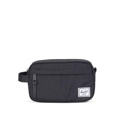 Neceser Herchel Travel Kit Carry On Black 3L