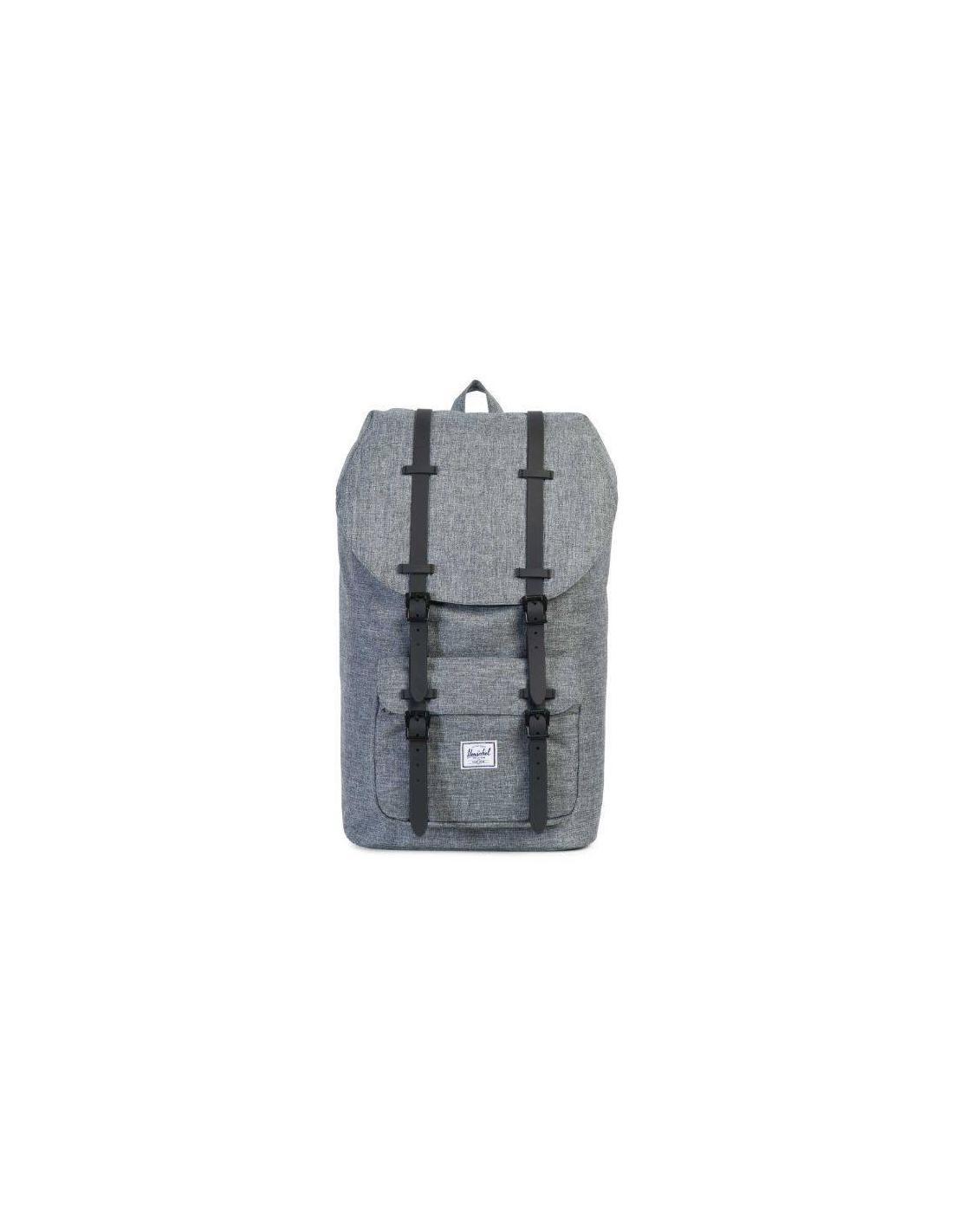 Herschel Supply Co Little America 25L Backpack Raven Crosshatch ceaabe88612ea
