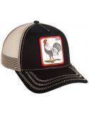 Goorin Bros Rooster Black Animal Farm Trucker Hat