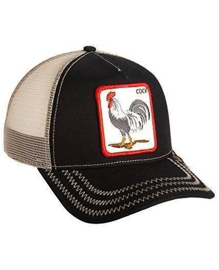 Goorin Bros Rooster Black Animal Farm Trucker Hat