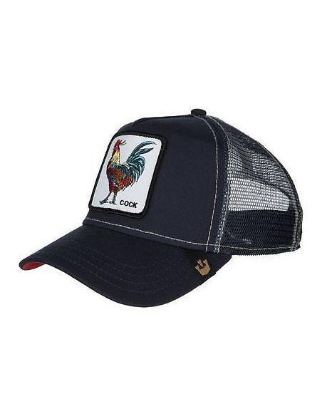 Goorin Bros Gallo Cock Navy Animal Farm Trucker Hat