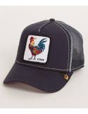 Gorra Goorin Bros Gallo Cock Navy Animal Farm Trucker Hat