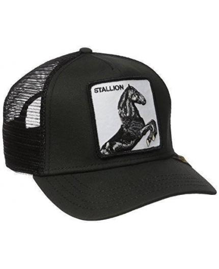 Goorin Bros Stallion Black Animal Farm Trucker Hat
